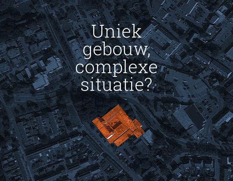 Van der Horst aannemers, uniek gebouw, complexe situatie