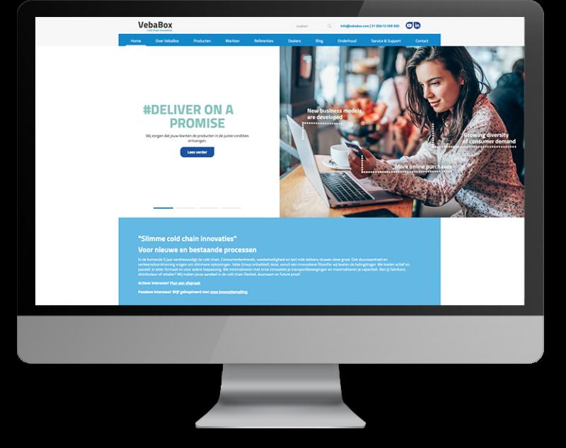 Vebabox website