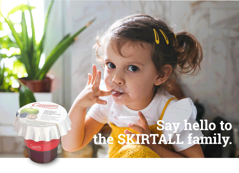 Skirtall, say hello to the skirtall family